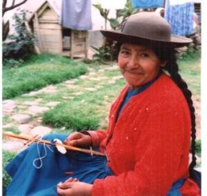 my first teacher in Peru.