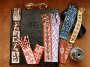 A bevy of backstrapped bookmarks