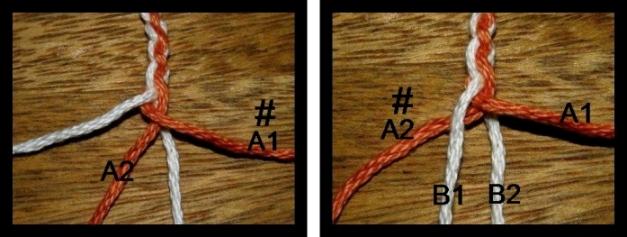 Tutorial-4-strand braid | Backstrap Weaving