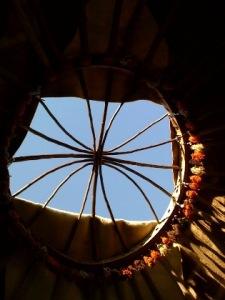 yurt opening