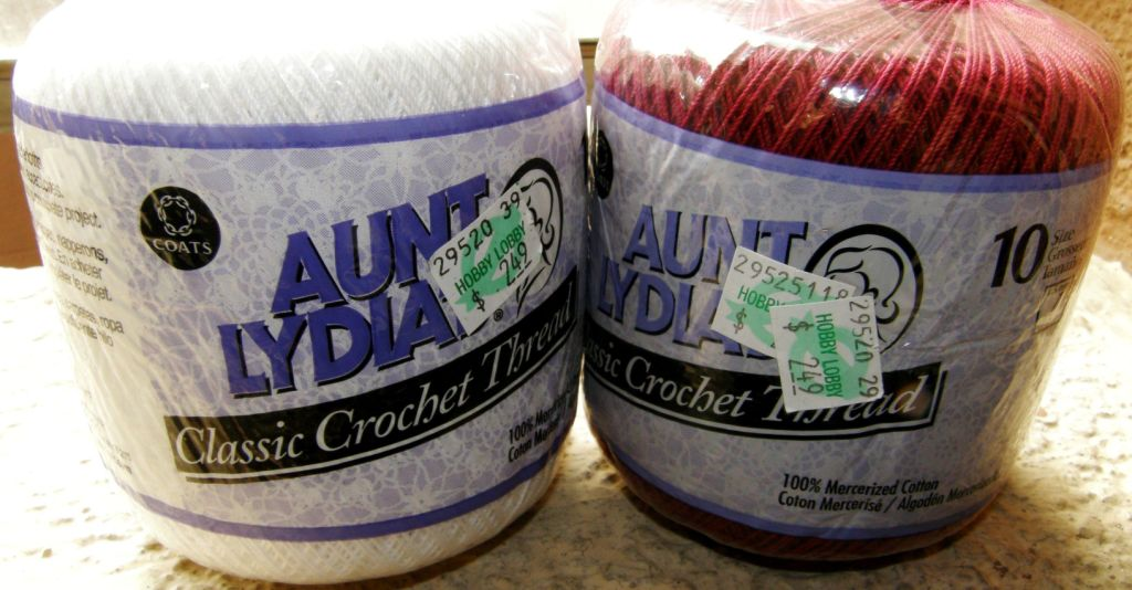 Aunt Lydia's Fashion Crochet - Sewing, Needlecraft, Thread