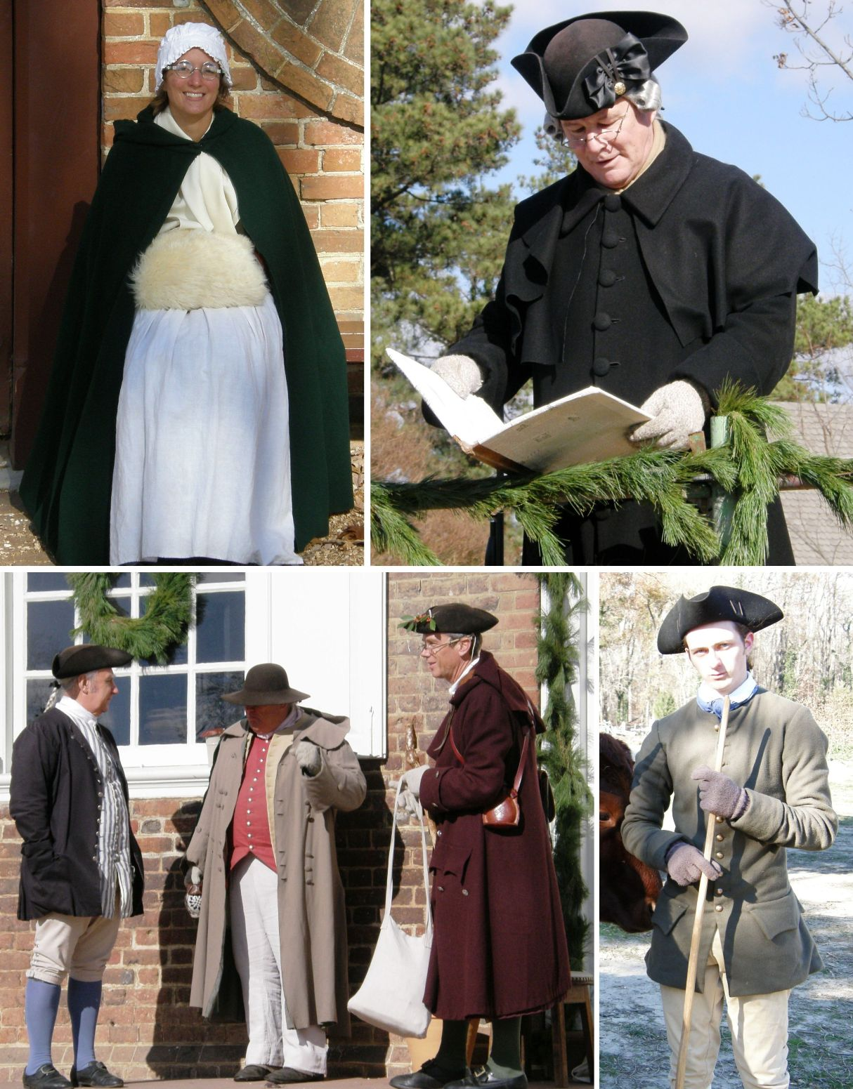 American Colonists Clothing Dressing in Colonial Times