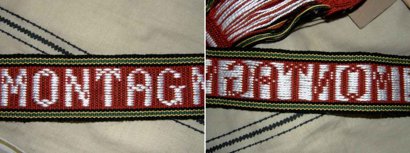 Tutorial – Lettering 1   Backstrap Weaving
