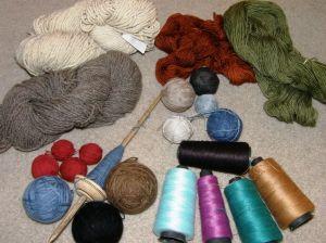 yarn from 2012 trips