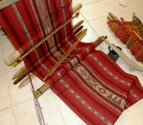 chahuaytire backstrap weaving