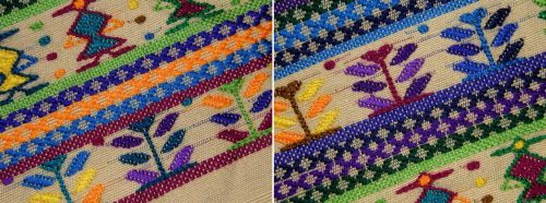 supplementary-weft-pattern-detail