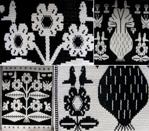 guarani black and white weavings