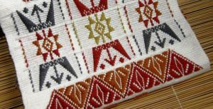 supplementary weft sampler