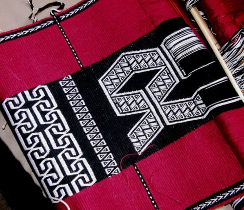 Wayuu inspired wall hanging progress