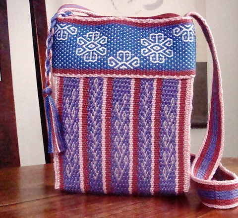 julia pebble weave bag