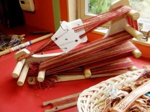 Mullarkey loom at Janet's