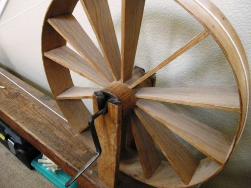 spinnig wheel made by zenon