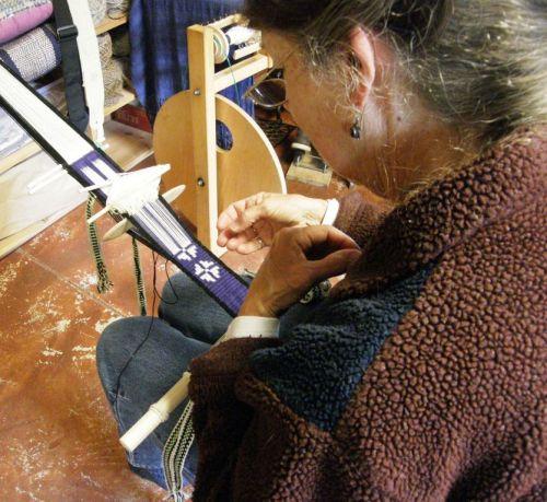 Connie weaving intermesh