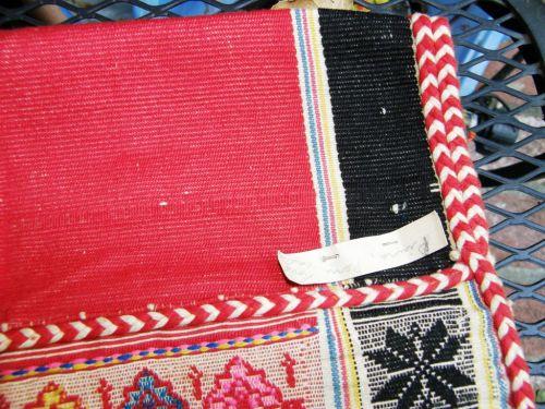 four selvedge cotton weaving