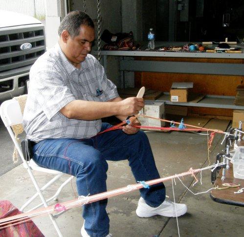 franco backstrap weaving