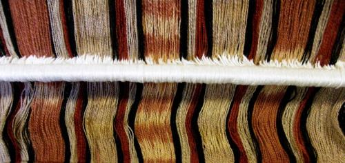 Janets wool ikat project
