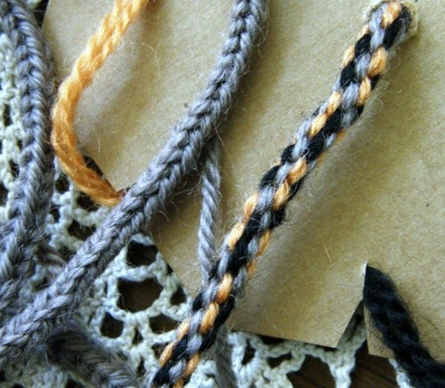 lucet cord and vonnie's braid