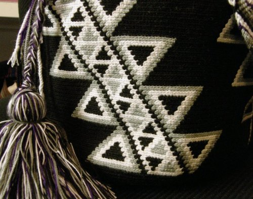 close up of Dorothy's Wayuu mochila