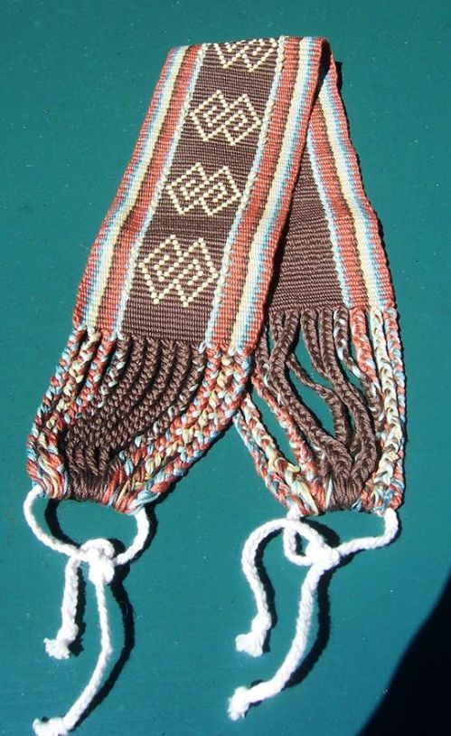 caroline sacramento supplementary weft inlay backstrap weaving