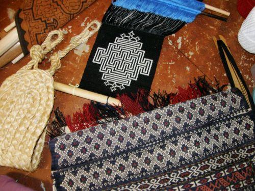 inspiration for new backstrap weaving