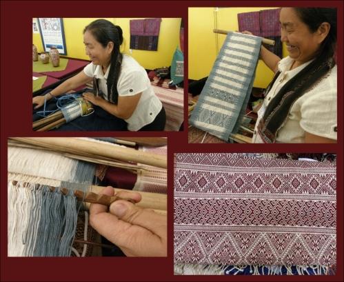 myanmar backstrap weaving