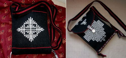 bhutan bag front and back