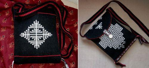bhutan bag front and back