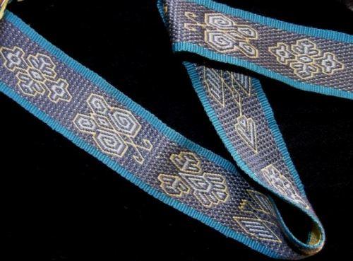 three color andean pebble weave
