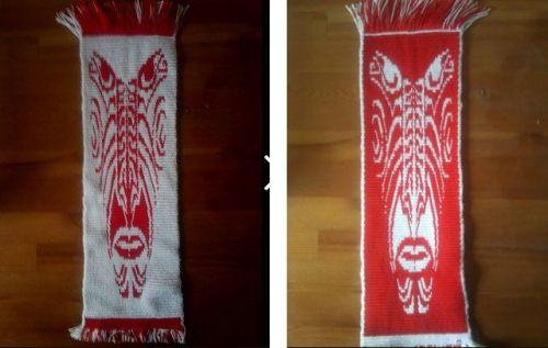 tribal mask by larisa