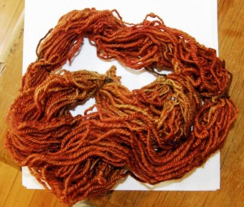 spun yarn by dace
