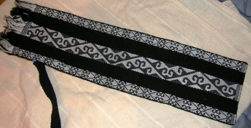 central asian backstrap weaving