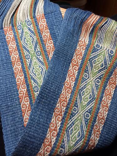 jennifers chinchero pattern finished