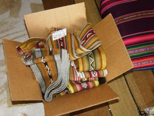 Cochabamba bands in box