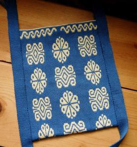huichol otomoi inspired backstrap weaving