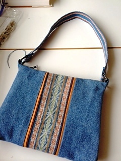 Jennifer bag with chinchero patterns