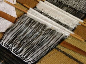 black panel for all hanging backstrap weaving
