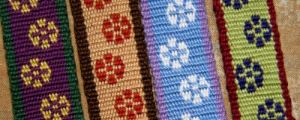 I have heard several version from my weaving teachers about the name and meaning of this Bolivian motif. explaations of the