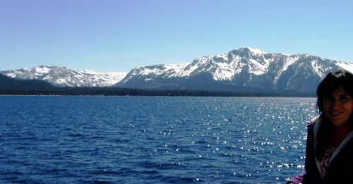 Virginia took me on a boat trip on Lake Tahoe to Emerald Bay.
