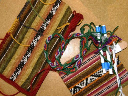 finishing touches class backstrap weaving