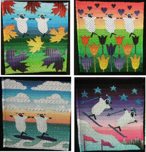 sheila ohara flockettes