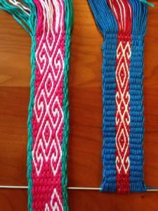 cheryl pebble weave backstrap