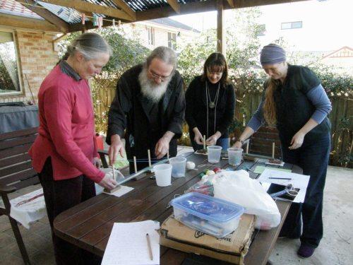 warping for backsrap weaving sydney