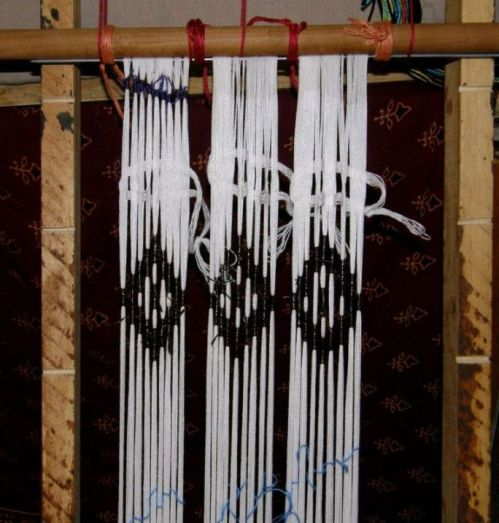 ikat-on-frame-and-off