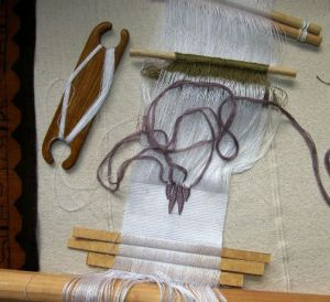 backstrap sample with new cotton