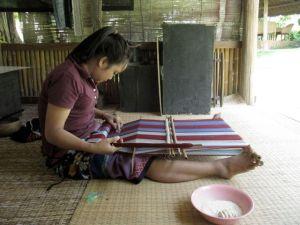 Katu weaver Laos