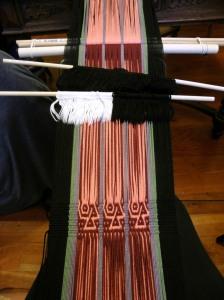 dorothy's backstrap weaving