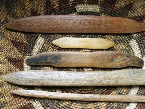 backstrap weaving swords