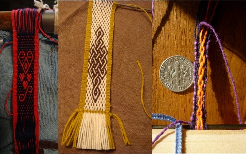 andean pebble weave fobs