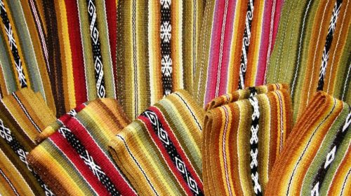 weaving highland Bolivia