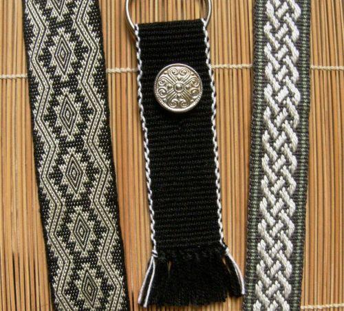 sil cotton tencel bands backstrap weaving